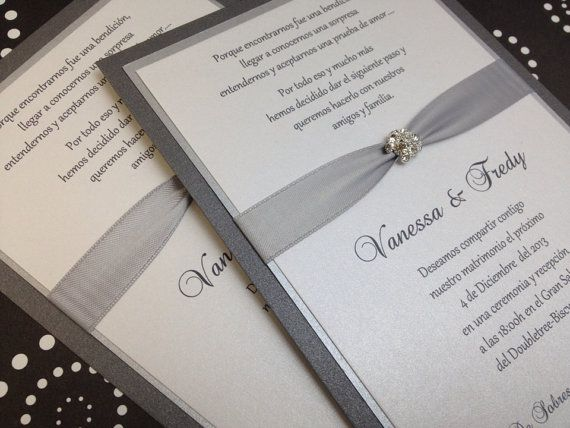 25+ best ideas about bling wedding invitations on pinterest, Wedding invitations
