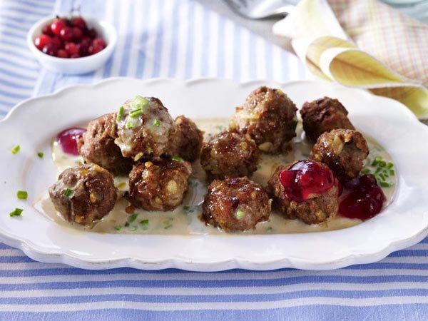 Schwedische Rezepte - Smaklig måltid! - schwedische-koettbullar  Rezept