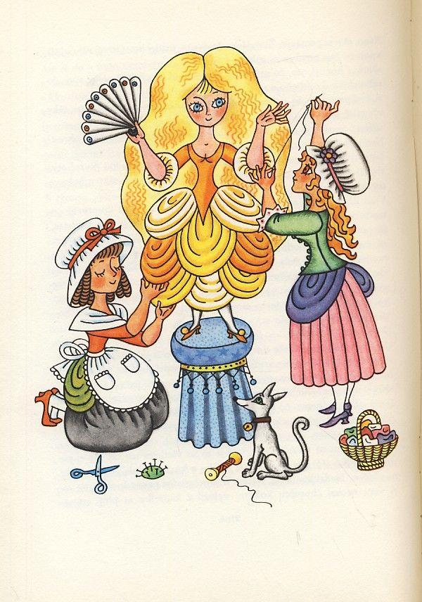 Z rozprávky do rozprávky, ilustrácie od Heleny Zmatlíkovej,Czechoslovakia