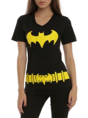 DC Comics Batman Belt Costume Girls T-Shirt ($16.88-22.50) - Hot Topic