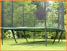 superbe trampoline rectangulaire 120 ressorts.Rebond très puissant.