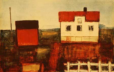 Gunn Vottestad. Houses into art.