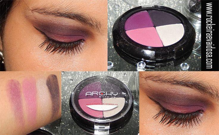 Quarteto de sombra Archy Make up.