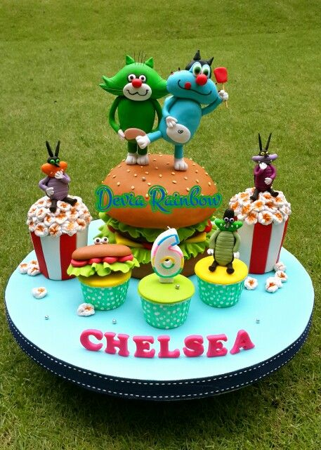37 best Oggy Cake images on Pinterest Pies Cake cookies and Cake
