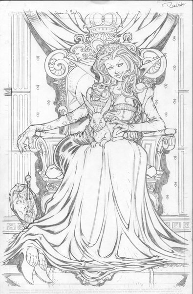 Zenescope's Grimm Fairy Tales: Queen of Hearts Issue Page 17 by Daniel Leister