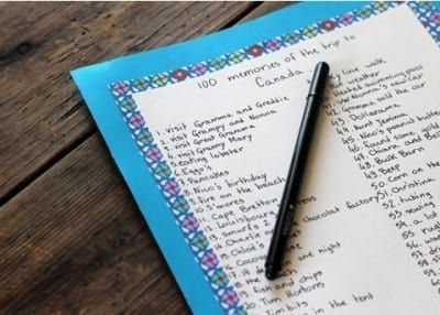 É divertido dar uma olhada nessa lista na véspera das suas próximas férias em família.
