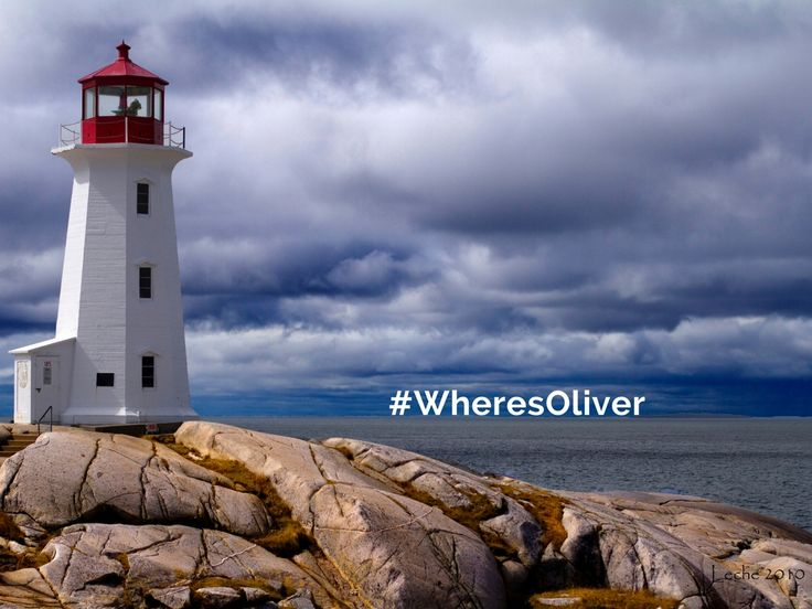 "This iconic lighthouse and its tiny village accompaniment sit on shores carved out by mile-high glaciers. Oliver thinks it's no wonder that Peggy's Cove is considered an ""intricate masterpiece on Nova Scotia's Bluenose Coast. Find out more at peggyscoveregion.com"