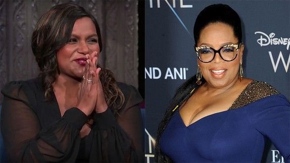Oprah S Gift To Mindy Kaling S Daughter Makes All Other Presents Look Like Garbage Mindy Kaling Oprah Mindy