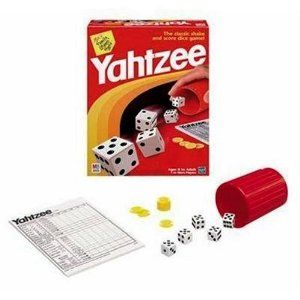 ~ I love yelling, YAHTZEE!!