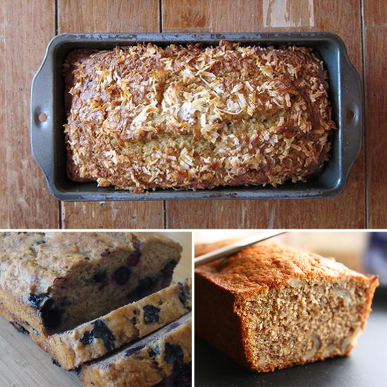 7 (Healthy) Breads to Go Bananas For! Must. Bake. Bread.