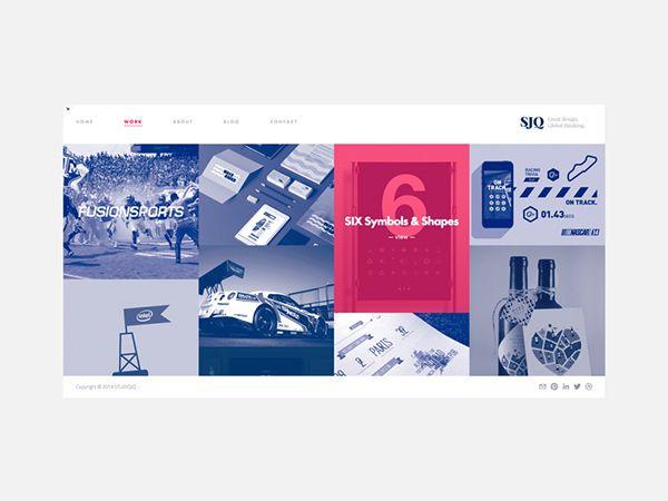 STUDIOJQ // Portfolio & Website 2015 on Behance