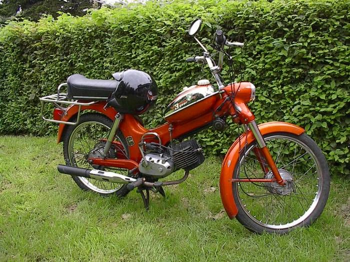 1977 Puch Moped | 1977 Puch MS50 Deluxe