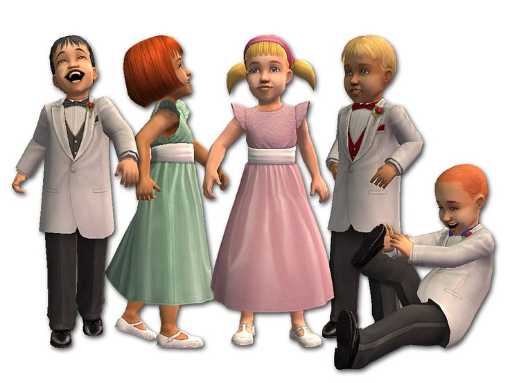 Mod The Sims - The Celebration Variations for Toddlers