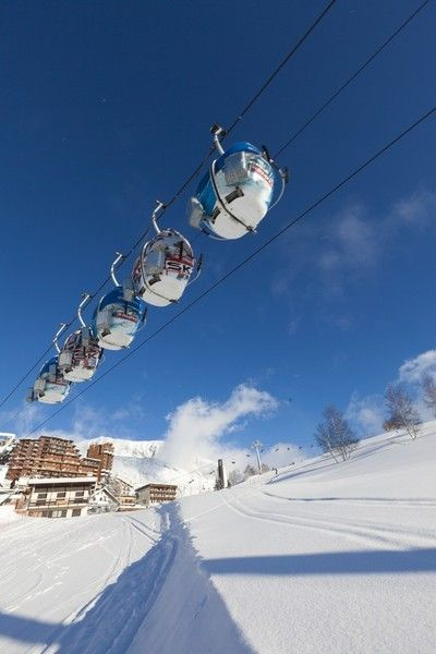 Among the Best Ski Resorts in Europe: L'Alpe d'Huez, France,
