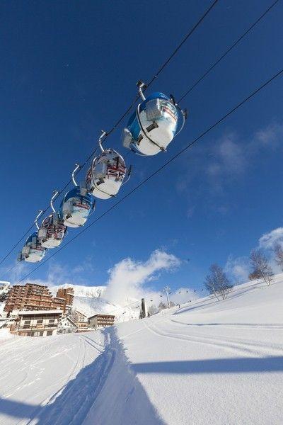Among the Best Ski Resorts in Europe: L'Alpe d'Huez, France,