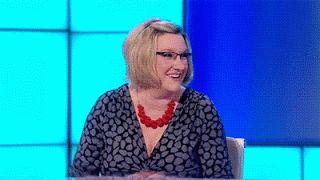 Sarah Millican Defies Twitter Trolls By Wearing Her Baftas Dress Again - Go Girl!   ♥