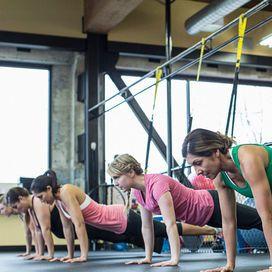 Cos'è un allenamento TRX TRX, tonica con il fitness in sospensione ,ogni martedì e giovedì ore 14.15 e 18.15-