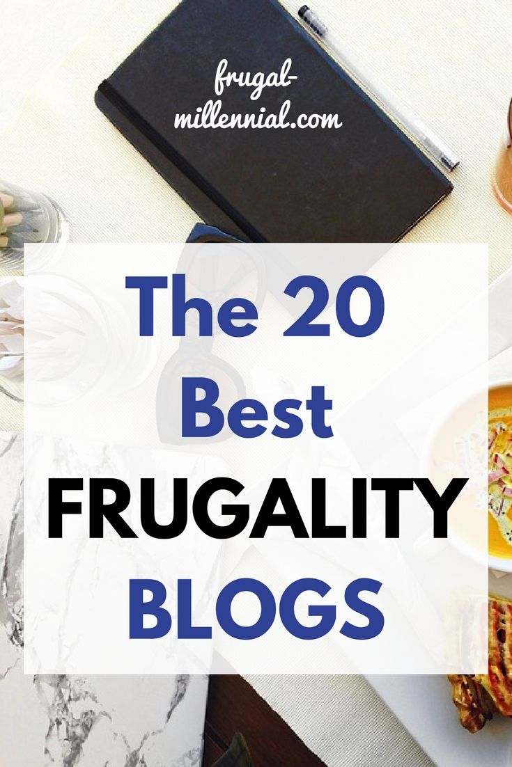 Frugal Friday Roundup: The 20 Best Frugality Blogs via @frugal_jen