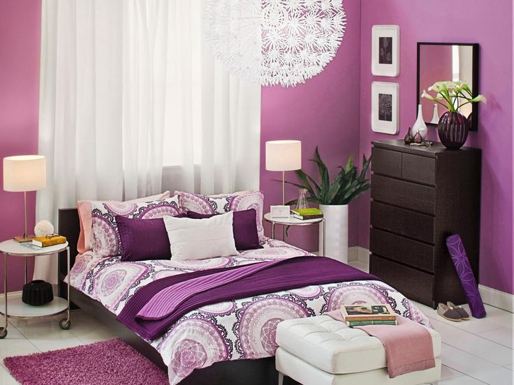 Schlafzimmer modern lila  159 best Smart Color Combination for Interior Design images on ...
