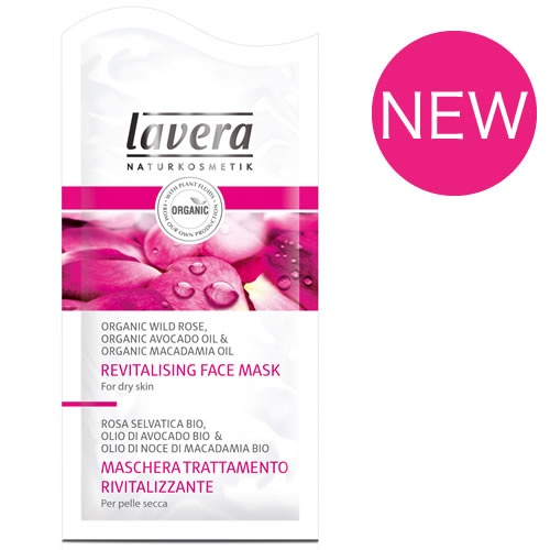 A Revitalising Face Mask from Lavera to give my skin a boost