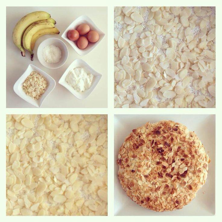 Banánovo-kokosový dortík - Fitness Recepty