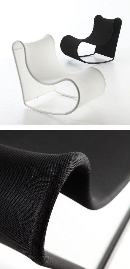 Rocking Garden #armchair CALIFORNIA By AREA DECLIC | #design Mino Bressan,  Studio Thesia