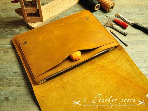 13 inch MacBook Air Case 13 MacBook Pro Retina by iLeatherStore