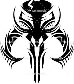 Mandalorian Skull - Tattoosk