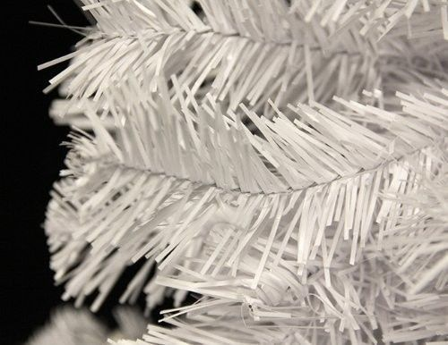 Crystal White Christmas Tree Perfect Holiday PVC 6 FEET Home Indoor Pretty Frost #CrystalWhites