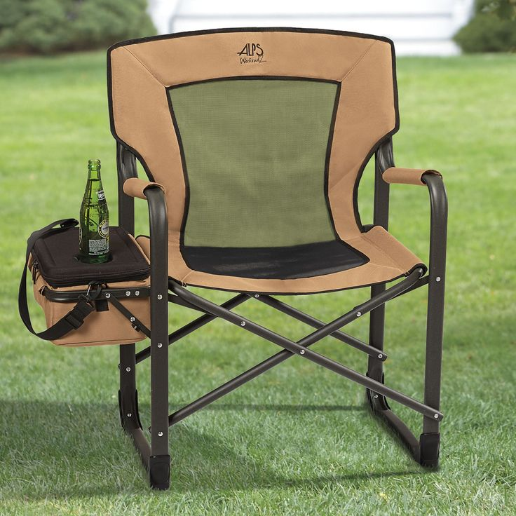 Amazing Enjoy The Outdoors With This Comfy Camp Chair Built With A Breathable Mesh  Seat U0026 Back