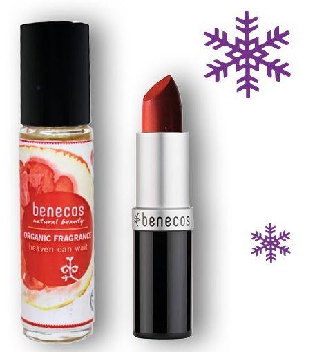 Xmas Set #Benecos Bio Profumo & Lipstick Catwalk