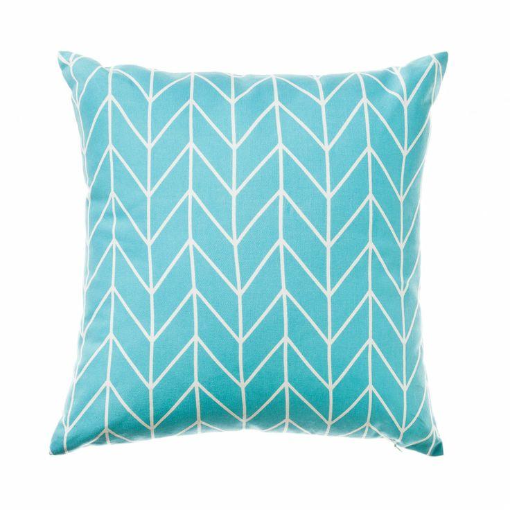 Home Republic Geometric Archer Sky - Soft Furnishings Cushions - Adairs Online $33