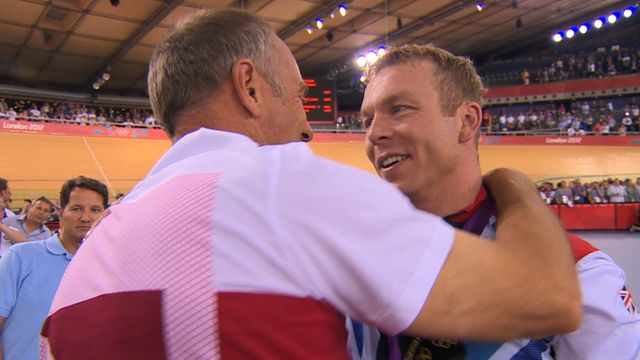 BBC Sport - Sir Chris Hoy wins sixth Olympic gold medal with keirin win