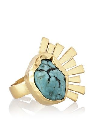 66% OFF Zariin Wanderer of the Sun Turquoise Ring