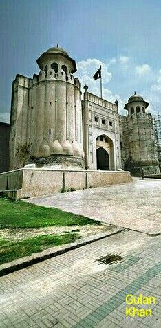 Fantastic beauty of Shahi fort Lahore Punjab Pakistan
