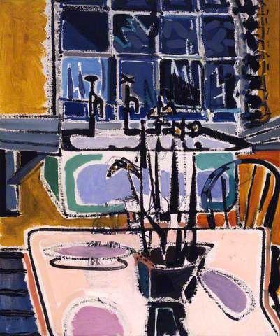 The Kitchen at Night - Patrick Heron