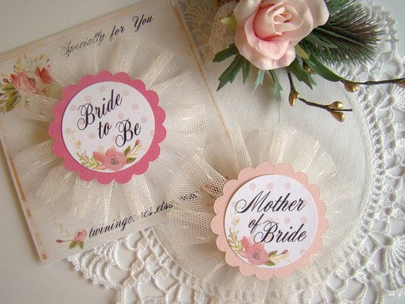Bride to Be Pin, Team Bride, Bride Squad, Bride Tribe, Pink Floral Bachelorette Party Pins, Bride Pin, Hen Party Pins, Wedding Party Badge