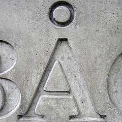 - concrete (Eva the Weaver) Tags: capital  letter alphabet oneletter uppercase  materialalphabet