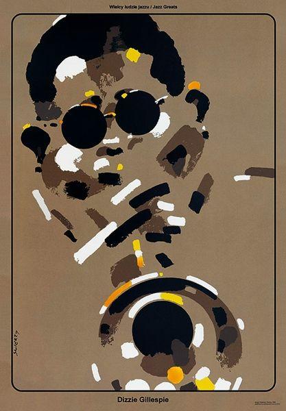 Dizzie Gillespie - Jazz Greats, Swierzy Waldemar, Polish Poster