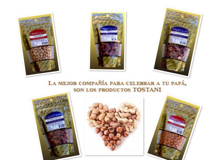 No te olvides de regalonear a tu papá con los mejores frutos secos #tostani  #elmejordistribuidor #diadelpadre #mani #almendra #frutossecos #coctel #distribuidoraarenillas