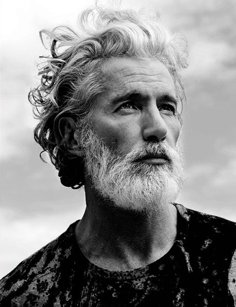 Aiden Shaw Photographed By Philipp Mueller For Schön!'s 18th Issue: Shaw Photographers, 1000Sassa Beards, Boys Style, Aidan Shaw, Silver Foxes, Beards Brother, Awesome Beards, Aiden Shaw, Men Hairstyles