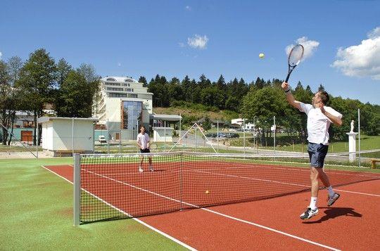 Tennis court in hotel area, Hotel Kaskady   #luxury #holiday #hotel #kaskady #freetime #tenis #play #sport