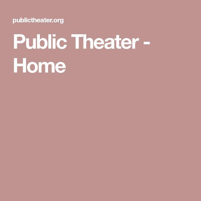 Public Theater - Home