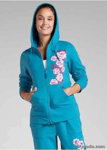 cool Mavi Polar Kazak Modelleri 2014