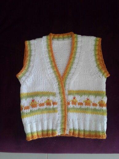 I m knitting