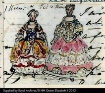 Queen Victoria's Journals - Illustration: Queen Elizabeth, Victoria Journals, Art Journals, Illustrations Galleries, Illustrations Viewer, Queen Victoria S, Victoria S Journals, Hm Queen, Mixed Media Illustrations