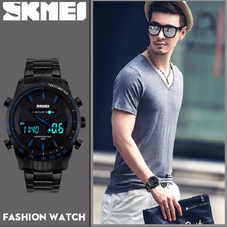 New Men Waterproof Watch