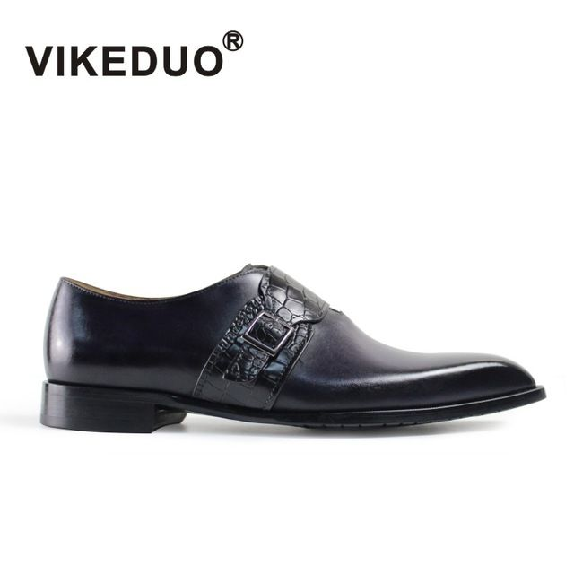 Check lastest price VIKEDUO Luxury Brand Vintage Mens Oxford Shoes Custom Hasp Formal Dress Wedding Party Awesome Man Male Shoe Genuine Leather  just only $164.03 with free shipping worldwide  #menshoes Plese click on picture to see our special price for you