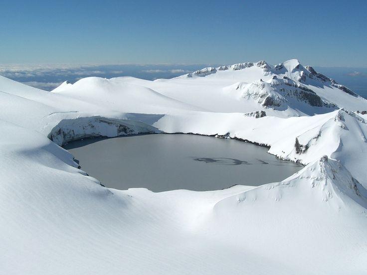 Crater Lake Mount Ruapehu– New Zealand