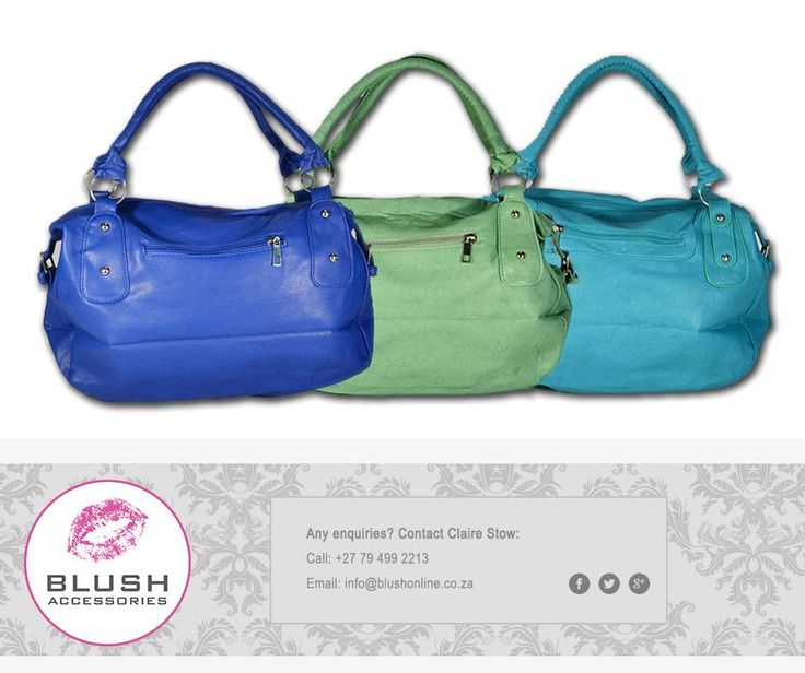 Need a cute little bag to wear out this weekend? Then get yourself a Colt Bag from #Blush. Available in a variety of funky colours. #handbags #trendyweekend